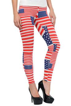 Легинсы флаг Америки Mondigo