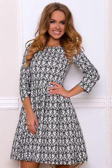 Платье с расклешенной юбкой Open-Style