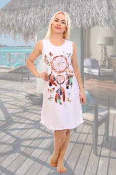 Новинка: белая хлопковая сорочка Натали
