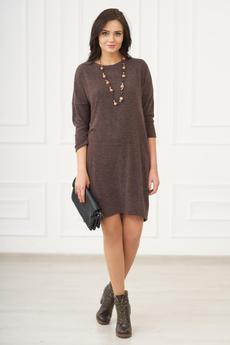 Теплое трикотажное платье Шарлиз