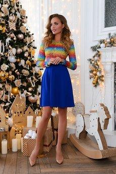 Платья ярко синего цвета Open-Style