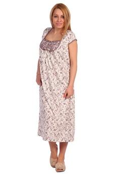 Свободная длинная ночная сорочка ElenaTex